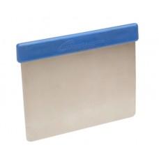 "Flexible Stainless Steel Scraper w/Plastic Detectable Grip 5"" x 4"""