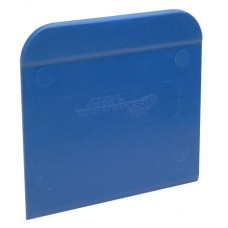 "Detectable Rigid Plastic Scraper 3.5 MM Thick / 5.5"" x 5"""